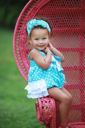 SPRING HAS SPRUNG BUBBLE ROMPER- Serendipity