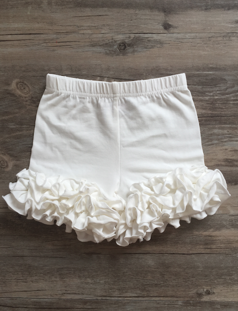 S1 WHITE ICING SHORTIES
